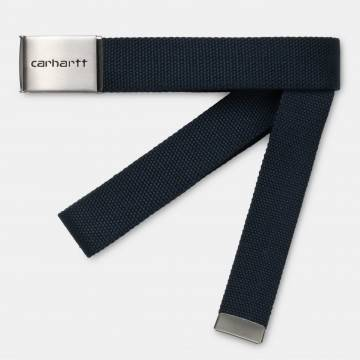 Clip Belt Dark Navy