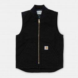 Classic Vest Black Rinsed