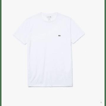Lacoste - T-Shirt Blanc