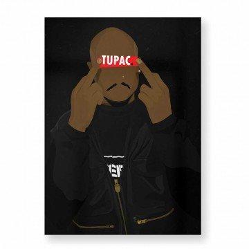 HUGOLOPPI Affiche Tupac