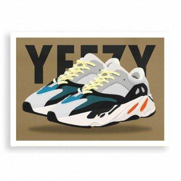HUGOLOPPI Affiche Yeezy