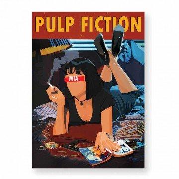 HUGOLOPPI Affiche PulpFiction