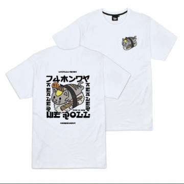Tealer Tshirt Sushi Cat