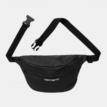 Payton Hip Bag - Black / White