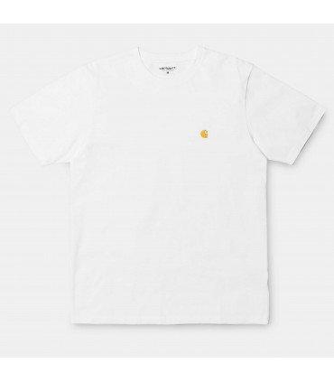 S/S Chase T-Shirt White / Gold
