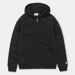 Hooded Chase Jacket Black /...