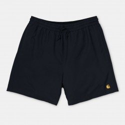 Chase Swim Trunks Black / Gold