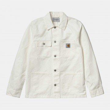Michigan Coat Off White...