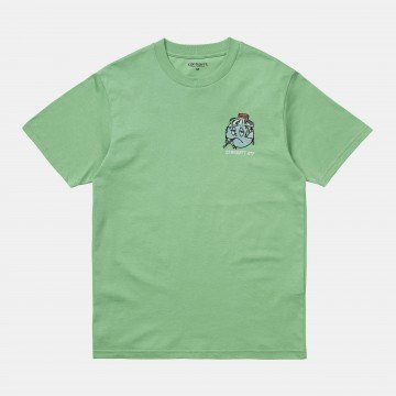 S/S World T-Shirt Mineral...