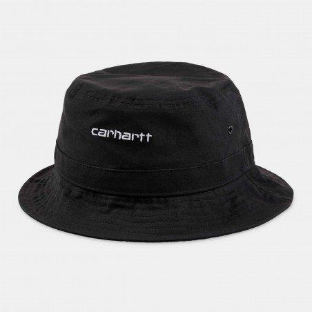 Script Bucket Hat Black / White