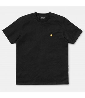 S/S Chase T-Shirt Black / Gold