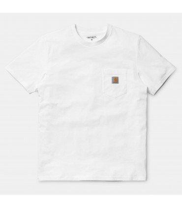 S/S Pocket T-Shirt White